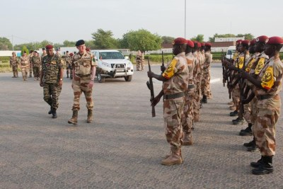 Chadian military taking part in counter terrorism in the Sahel (file photo).