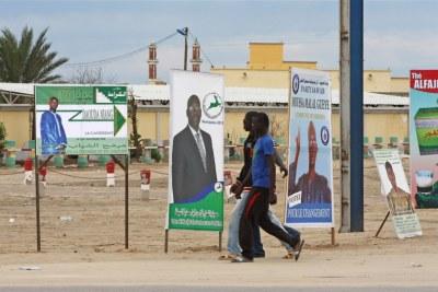 Campaign in Nouakchott (file photo)