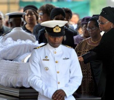 La dépouille de Mandela  exposée à l'Union Building de Pretoria