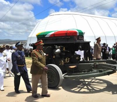 Funérailles de Nelson Mandela à Qunu