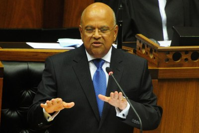 Finance Minister Pravin Gordhan presents the 2016 Budget.