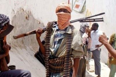Armed Boko Haram members