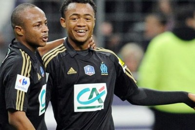The Ayew brothers