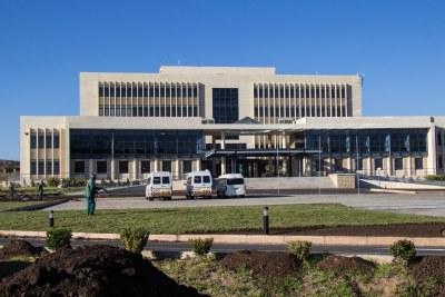 Lesotho's Parliament building.