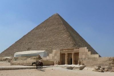 Pyramide de Khéops.