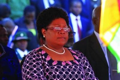 Vice President Joice Mujuru.