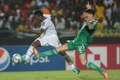 Asamoah Gyan of Ghana... (file photo)