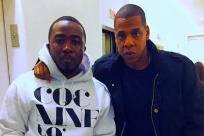 Jay Z and Nigerian rapper, Ice Prince.