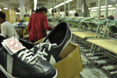 The Anbesa factory in Addis Ababa produces shoes that are exported under.the AGOA trade pact to the United States for sale by several leading brands.