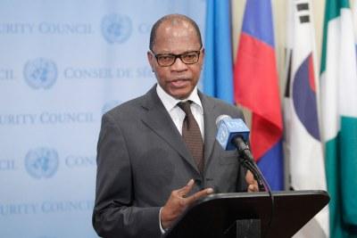 Le Représentant spécial du Secrétaire général de l'ONU pour l'Afrique de l'Ouest, Mohamed Ibn Chambas.