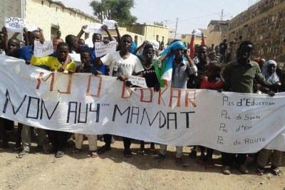 Protest in Dikhil, Djibouti (file photo)