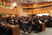 Packed house for the CCA's U.S.-Africa Business summit #AfricaBizSummit Opening Plenary in Addis Ababa, Ethiopia, February 1 - 4.