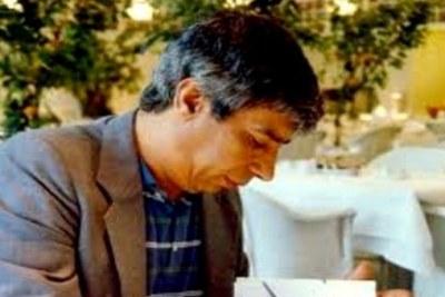 L'écrivain Rachid Mimouni