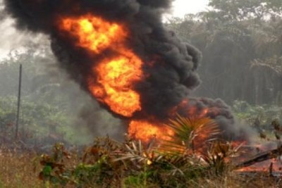 Pipeline explosion (file photo)