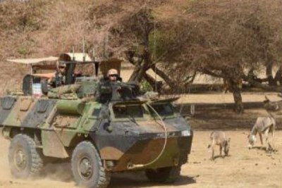 Opération Barkhane au Nord Mali
