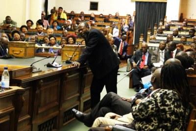 Zimbabwean parliament (file photo).