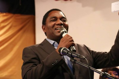 UPND president Hakainde Hichilema.