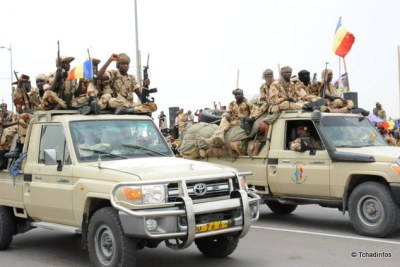 Chadian soldiers (file photo)