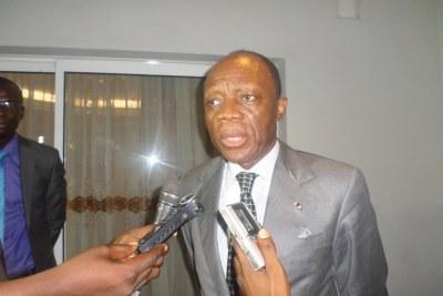 Ancien conseiller du chef de l'Etat chargé des questions de paix et de sécurité,  Jean Marie Michel Mokoko,
