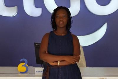 Joyce Gotta Sagoe, directrice marketing de l'opérateur de téléphonie et d'internet mobile