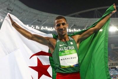 L'Algérien Taoufik Makhloufi a décroché la médaille d'argent de l'épreuve du 800 m des JO 2016