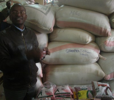 Making Improved Seed Available in Kenya's Drylands