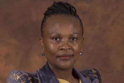 Public Protector Busisiwe Mkhwebane (file photo).