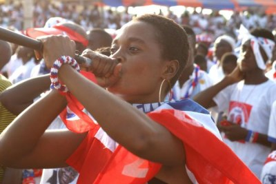 Elections rally in Ghana (file photo).