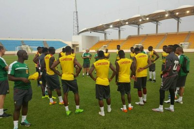 Cameroon National Team (file photo).
