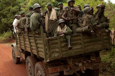 Les FARDC en patrouille dans l'Est de la RDC