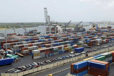 Lagos Port (file photo)