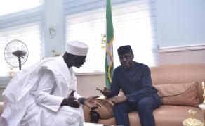 Nigerian VP Meets Guinea Bissau Prime Minister