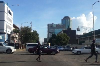 Harare CBD.