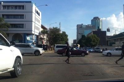 Harare (file photo).