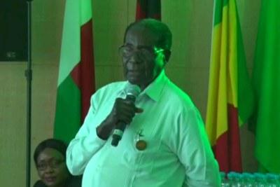 President Robert Mugabe(file photo).