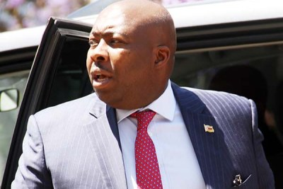 Zanu-PF political Commissar and Local Government minister, Saviour Kasukuwere.