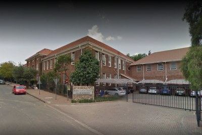 Outside Parktown Boy's High School (file photo).
