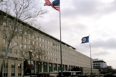 Siège du département d'Etat américain à Washington.