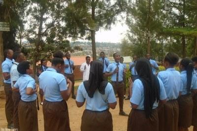 Etudiants rwandais