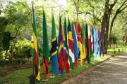Drapeaux des pays membre de la SADC