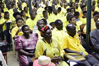 Ruling Party NRM MPs at Kyankwanzi recently.
