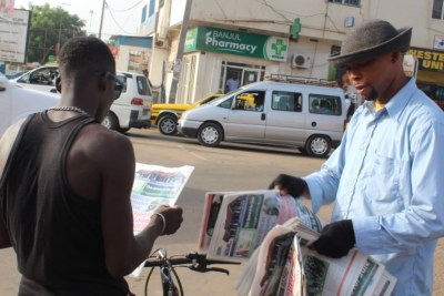 Media Thriving Since Jammeh's Departure (file photo)