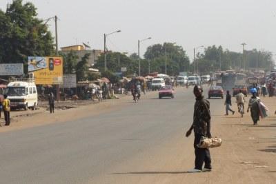 The town of Bouake
