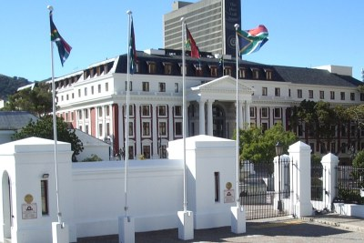 The National Assembly building of Parliament in Cape Town (file photo).