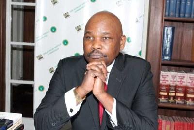 Kenya Human Rights Commission Chairman Makau Mutua.