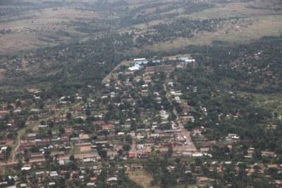 Vue aérienne de la ville de Kananga dans la province du Kasaï-Central de la RDC (archives).