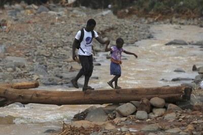 August 14 mudslide killed hundreds and left thousands homeless.