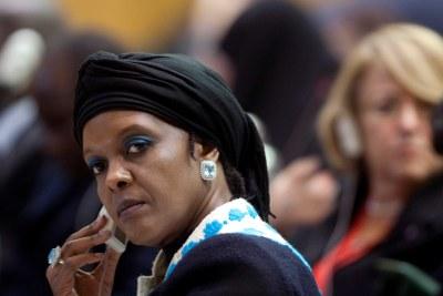 First Lady Grace Mugabe.