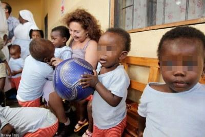 Children at Muhura orphanage in Gatsibo District (file photo).