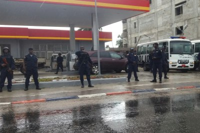 Liberian police (file photo).